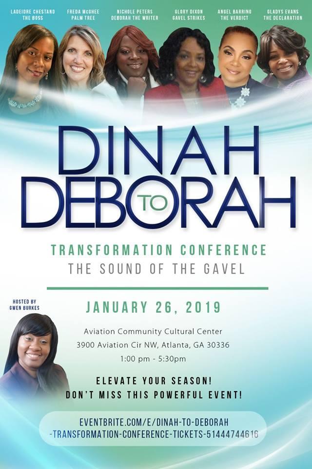 Dinah to Deborah Flyer